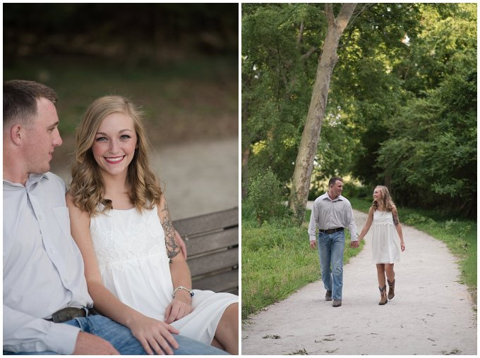 Golden Summer Engagement Session Windsor Castle Park Smith Field Virginia Wedding Photographers_5410