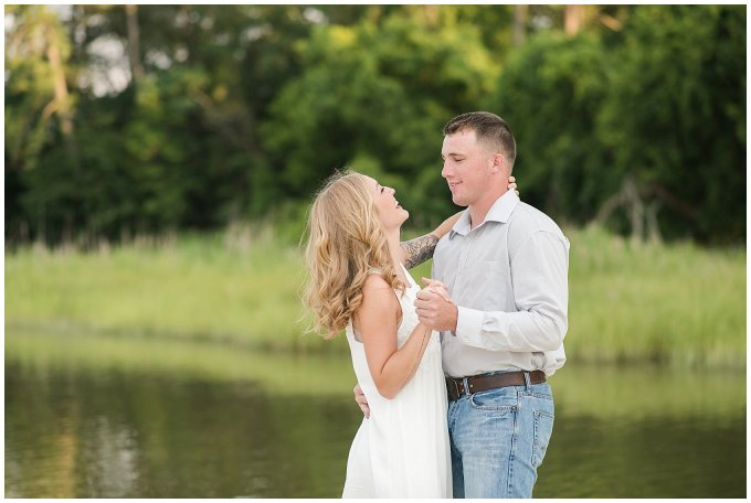 Golden Summer Engagement Session Windsor Castle Park Smith Field Virginia Wedding Photographers_5417