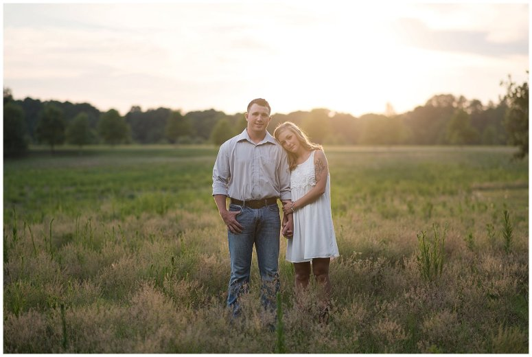 Golden Summer Engagement Session Windsor Castle Park Smith Field Virginia Wedding Photographers_5442