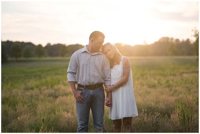 Golden Summer Engagement Session Windsor Castle Park Smith Field Virginia Wedding Photographers_5443