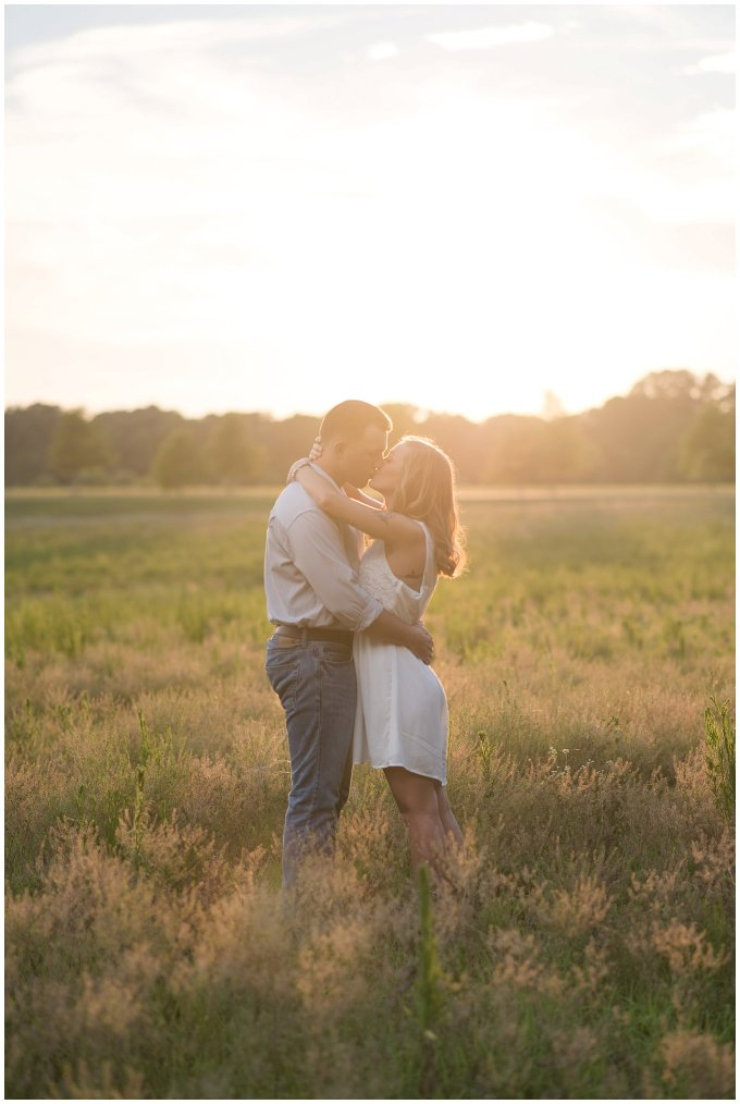 Golden Summer Engagement Session Windsor Castle Park Smith Field Virginia Wedding Photographers_5444