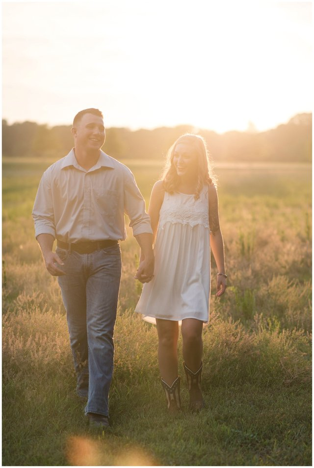Golden Summer Engagement Session Windsor Castle Park Smith Field Virginia Wedding Photographers_5446