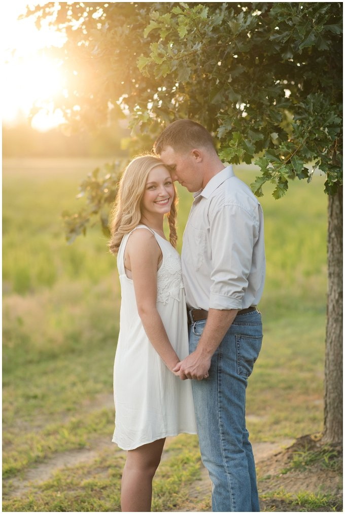 Golden Summer Engagement Session Windsor Castle Park Smith Field Virginia Wedding Photographers_5451