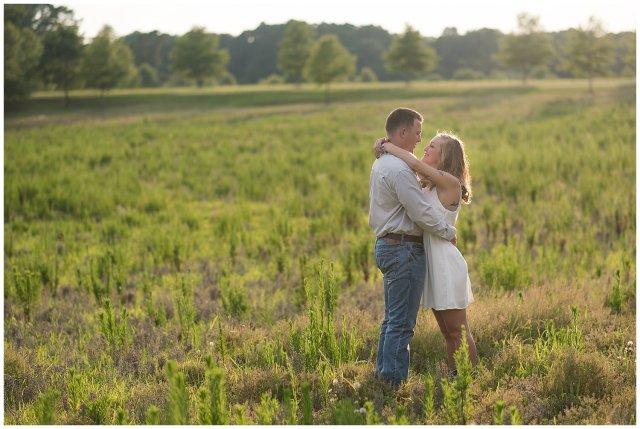 Golden Summer Engagement Session Windsor Castle Park Smith Field Virginia Wedding Photographers_5456