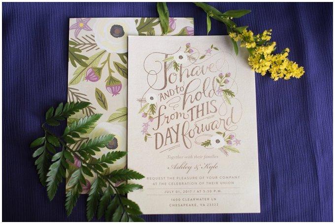 Purple and Green Quaint Backyard Wedding Virginia Beach Wedding Photographers_5258