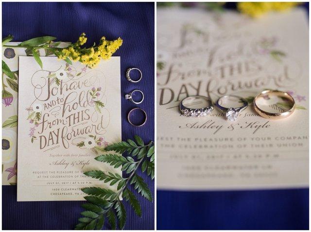 Purple and Green Quaint Backyard Wedding Virginia Beach Wedding Photographers_5259