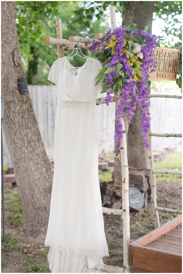 ashley u0026 kyle a quaint summer backyard wedding virginia