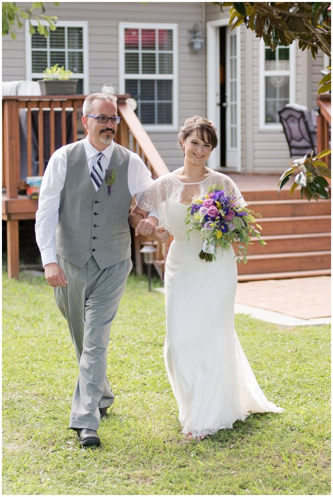 Purple and Green Quaint Backyard Wedding Virginia Beach Wedding Photographers_5308