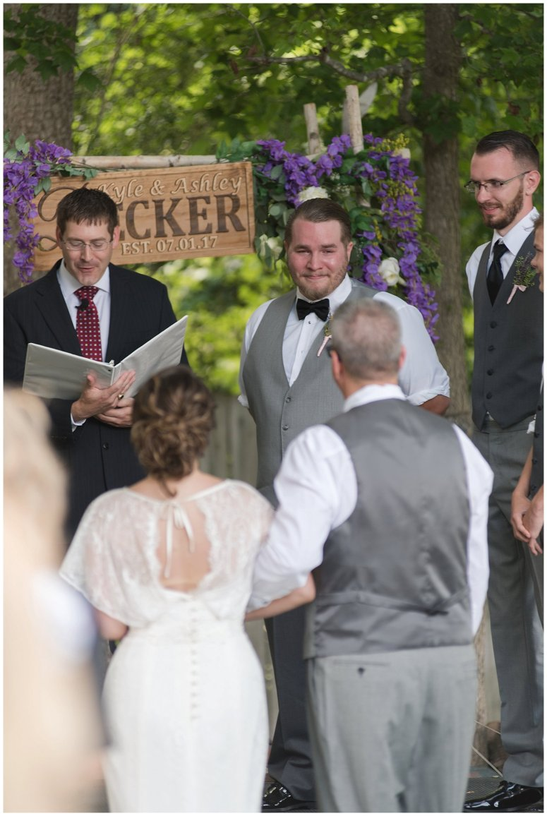 Purple and Green Quaint Backyard Wedding Virginia Beach Wedding Photographers_5312