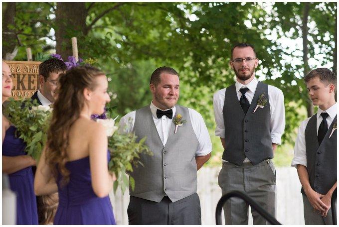 Purple and Green Quaint Backyard Wedding Virginia Beach Wedding Photographers_5313