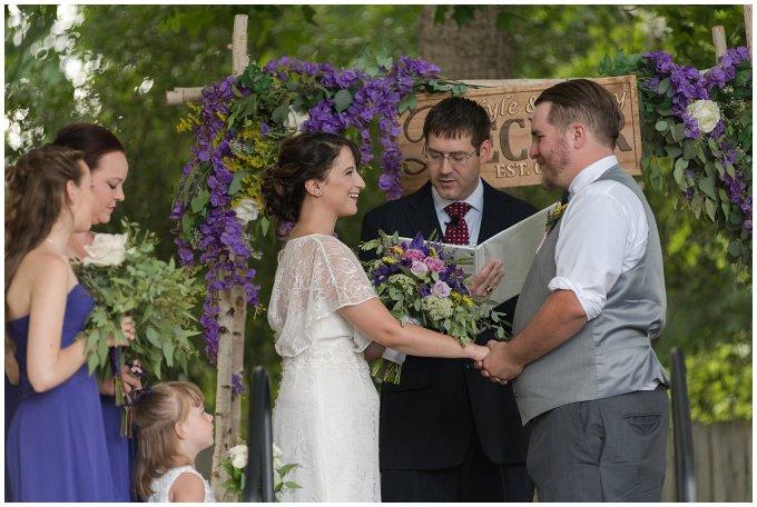 Purple and Green Quaint Backyard Wedding Virginia Beach Wedding Photographers_5315