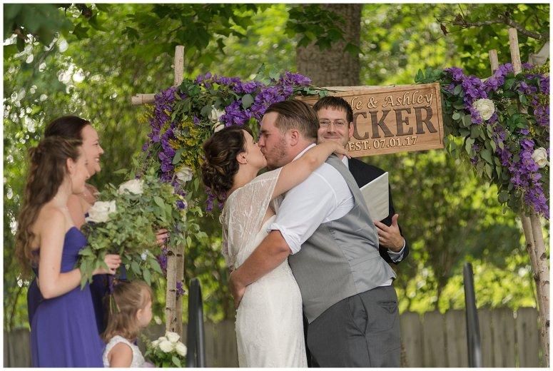 Purple and Green Quaint Backyard Wedding Virginia Beach Wedding Photographers_5317