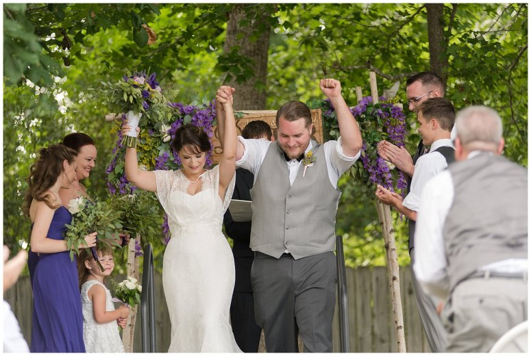 Purple and Green Quaint Backyard Wedding Virginia Beach Wedding Photographers_5322