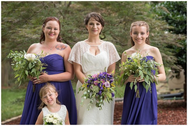 Purple and Green Quaint Backyard Wedding Virginia Beach Wedding Photographers_5325