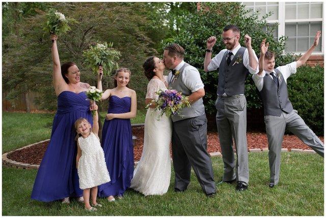 Purple and Green Quaint Backyard Wedding Virginia Beach Wedding Photographers_5331