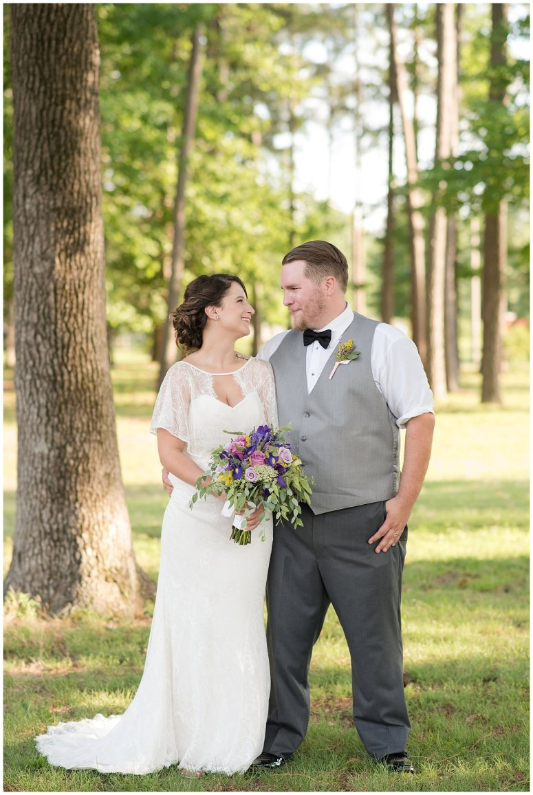 Purple and Green Quaint Backyard Wedding Virginia Beach Wedding Photographers_5332