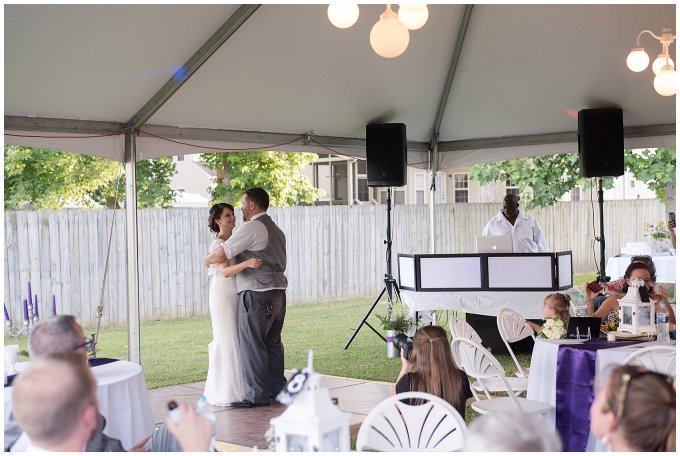 Purple and Green Quaint Backyard Wedding Virginia Beach Wedding Photographers_5361