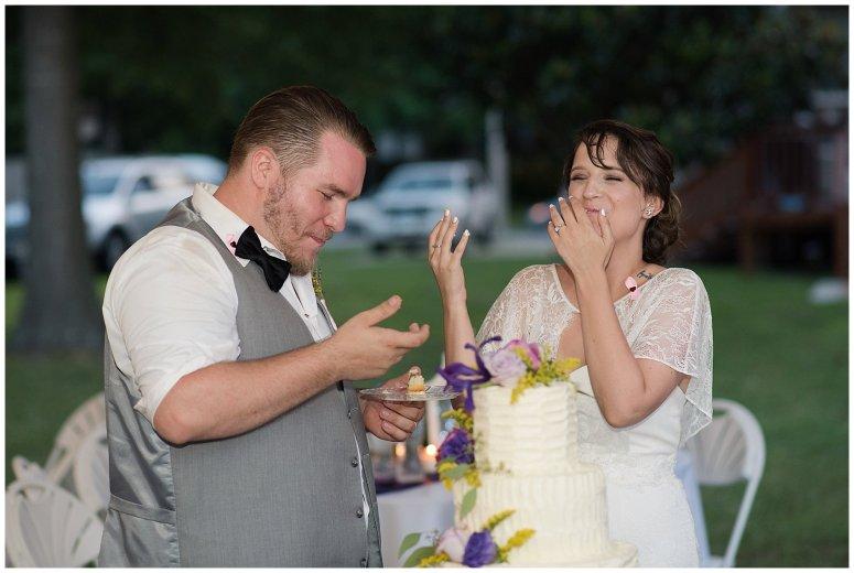 Purple and Green Quaint Backyard Wedding Virginia Beach Wedding Photographers_5379