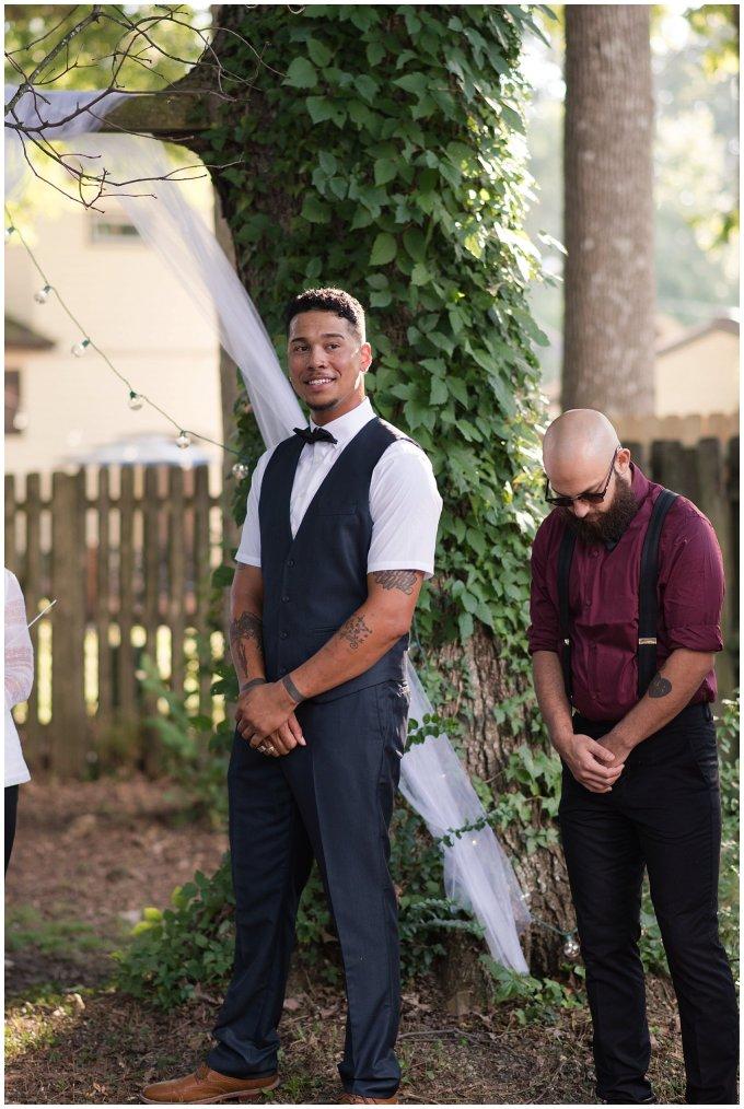 Intimate Simple Beautiful Backyard Virginia Beach Wedding Photographers_5686