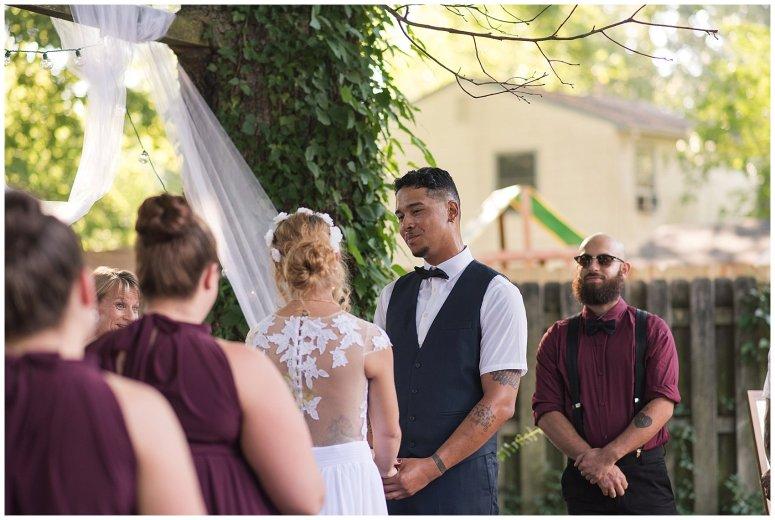 Intimate Simple Beautiful Backyard Virginia Beach Wedding Photographers_5691