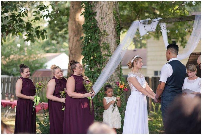 Intimate Simple Beautiful Backyard Virginia Beach Wedding Photographers_5693