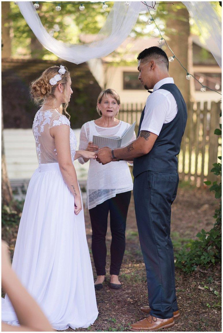 Intimate Simple Beautiful Backyard Virginia Beach Wedding Photographers_5694
