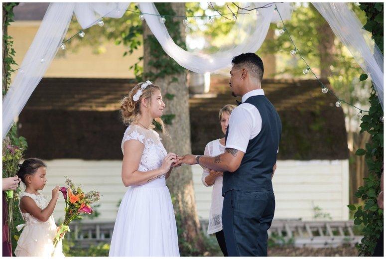 Intimate Simple Beautiful Backyard Virginia Beach Wedding Photographers_5697