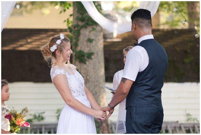 Intimate Simple Beautiful Backyard Virginia Beach Wedding Photographers_5698