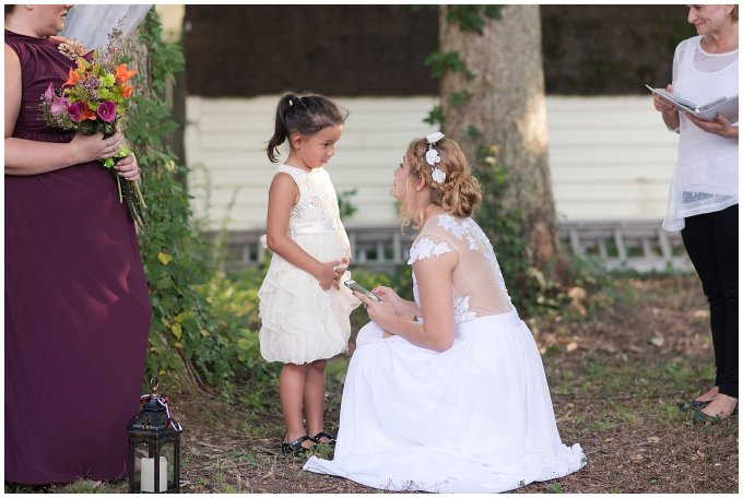 Intimate Simple Beautiful Backyard Virginia Beach Wedding Photographers_5701