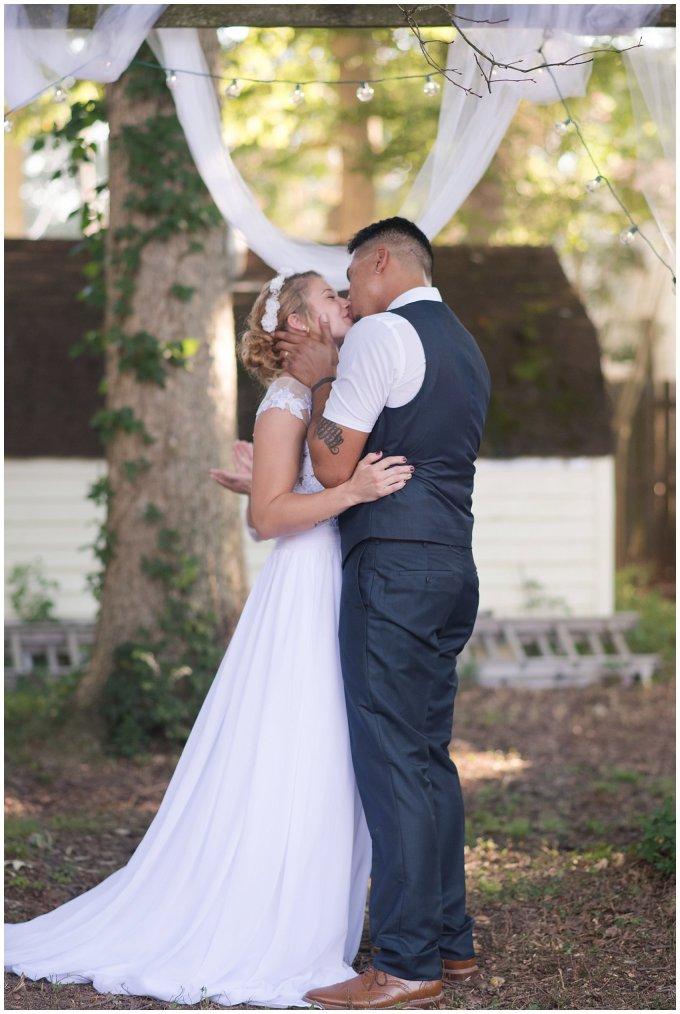 Intimate Simple Beautiful Backyard Virginia Beach Wedding Photographers_5705