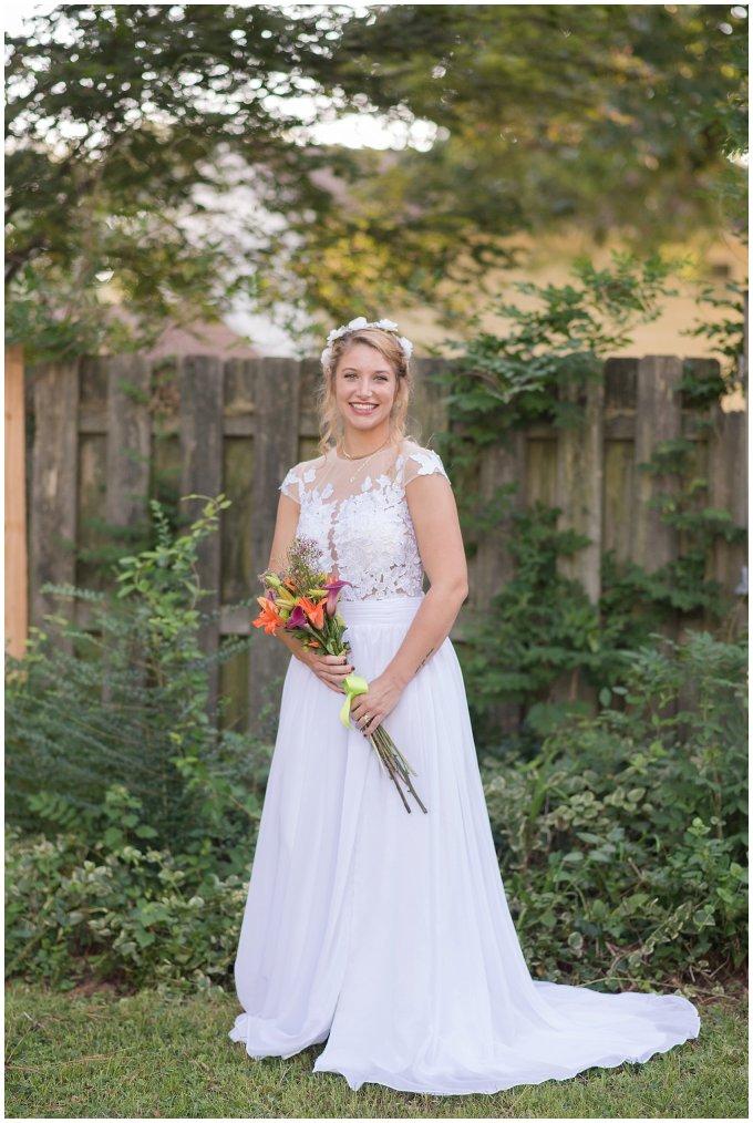 Intimate Simple Beautiful Backyard Virginia Beach Wedding Photographers_5710