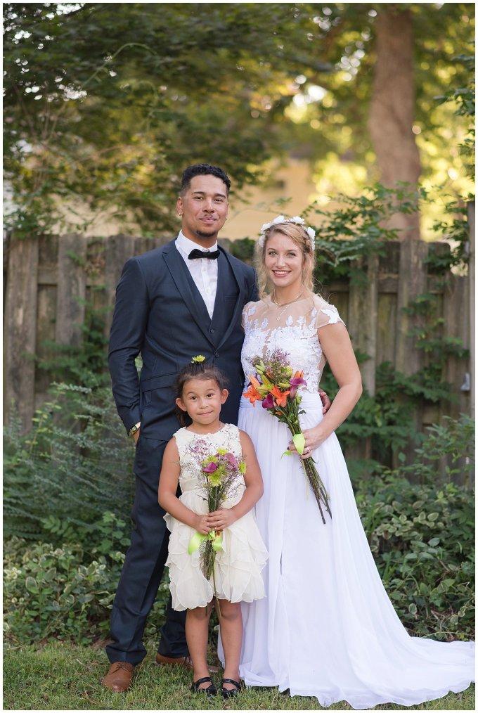Intimate Simple Beautiful Backyard Virginia Beach Wedding Photographers_5713
