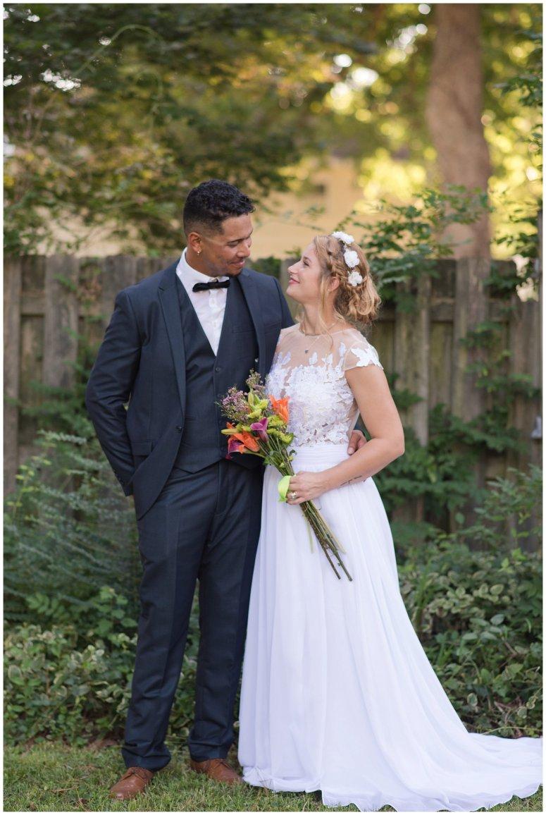 Intimate Simple Beautiful Backyard Virginia Beach Wedding Photographers_5714