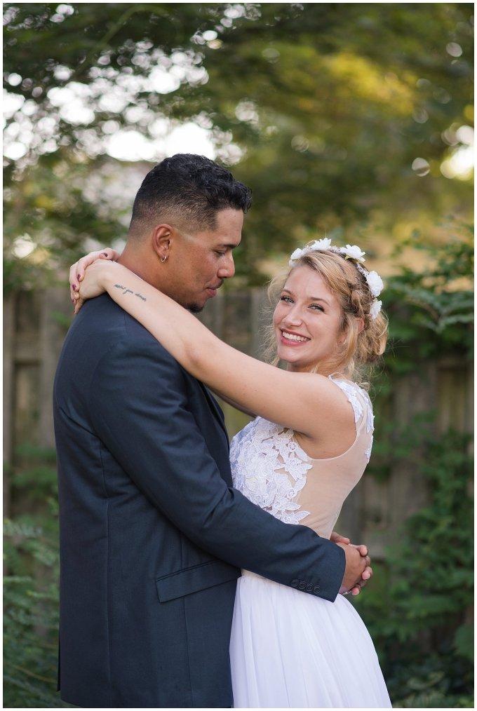 Intimate Simple Beautiful Backyard Virginia Beach Wedding Photographers_5717