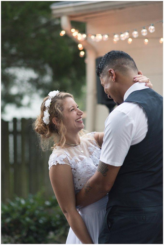 Intimate Simple Beautiful Backyard Virginia Beach Wedding Photographers_5744