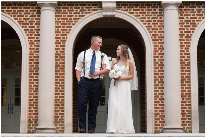 Blush Pink Summer Virginia Beach Wedding Regent University Founders Inn Bride and Groom Wedding Photographers_6120