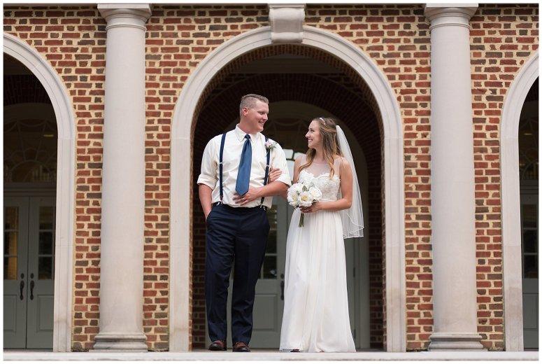 Blush Pink Summer Virginia Beach Wedding Regent University Founders Inn Bride and Groom Wedding Photographers_6120