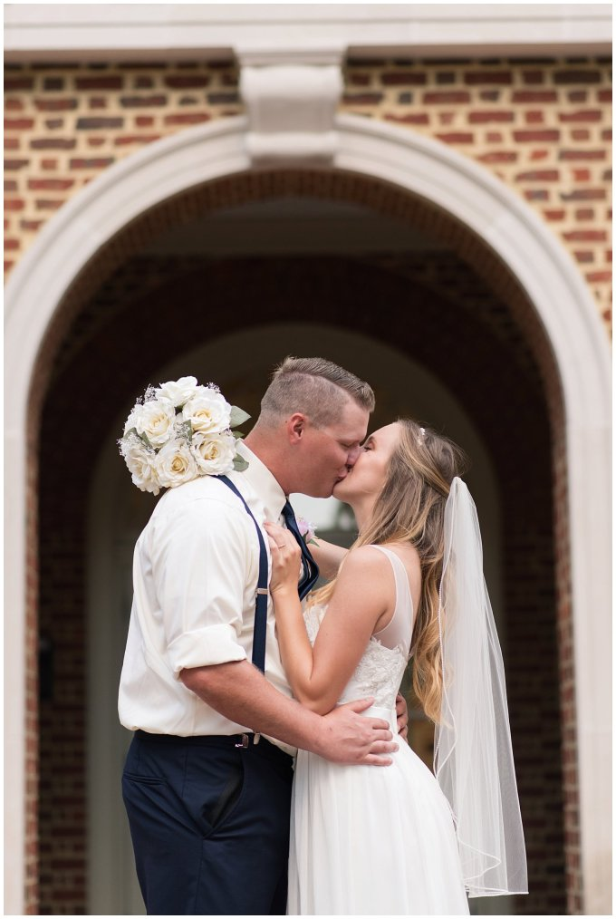 Blush Pink Summer Virginia Beach Wedding Regent University Founders Inn Bride and Groom Wedding Photographers_6121