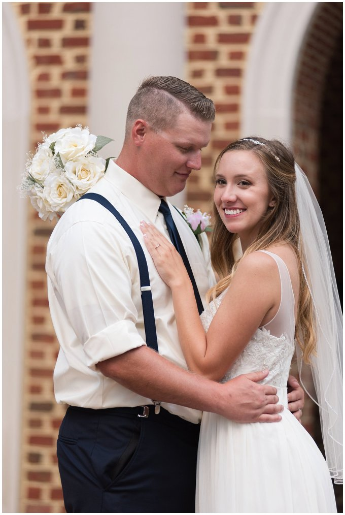 Blush Pink Summer Virginia Beach Wedding Regent University Founders Inn Bride and Groom Wedding Photographers_6124
