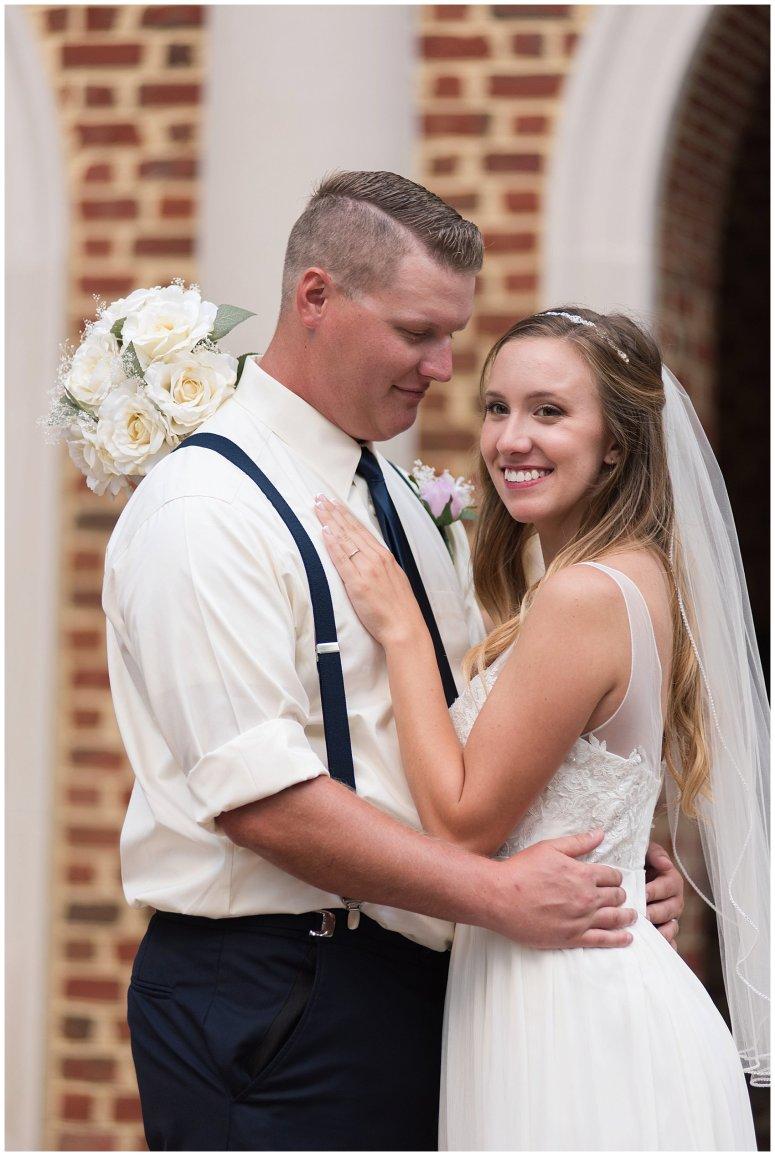 Blush Pink Summer Virginia Beach Wedding Regent University Founders Inn Bride and Groom Wedding Photographers_6124