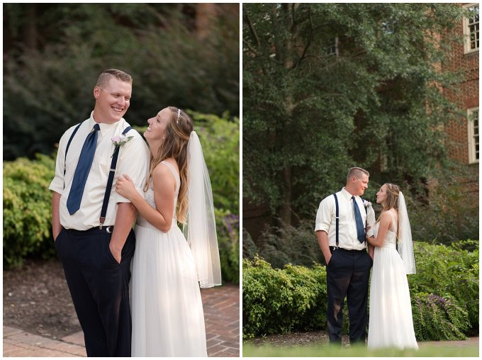 Blush Pink Summer Virginia Beach Wedding Regent University Founders Inn Bride and Groom Wedding Photographers_6127