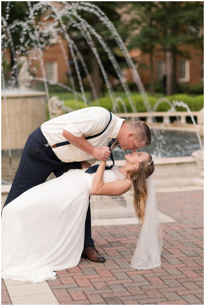 Blush Pink Summer Virginia Beach Wedding Regent University Founders Inn Bride and Groom Wedding Photographers_6135