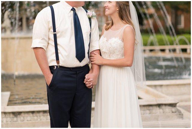 Blush Pink Summer Virginia Beach Wedding Regent University Founders Inn Bride and Groom Wedding Photographers_6136