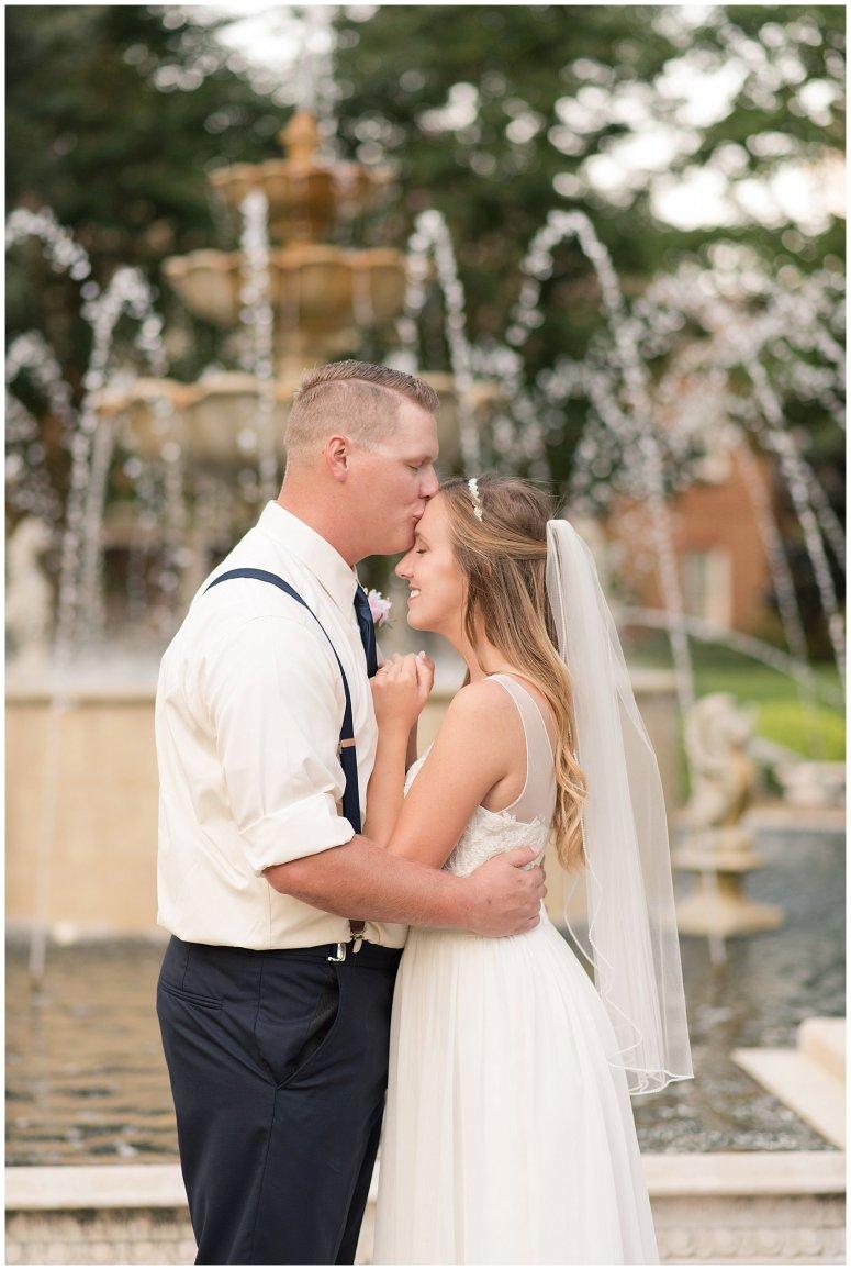 Blush Pink Summer Virginia Beach Wedding Regent University Founders Inn Bride and Groom Wedding Photographers_6140