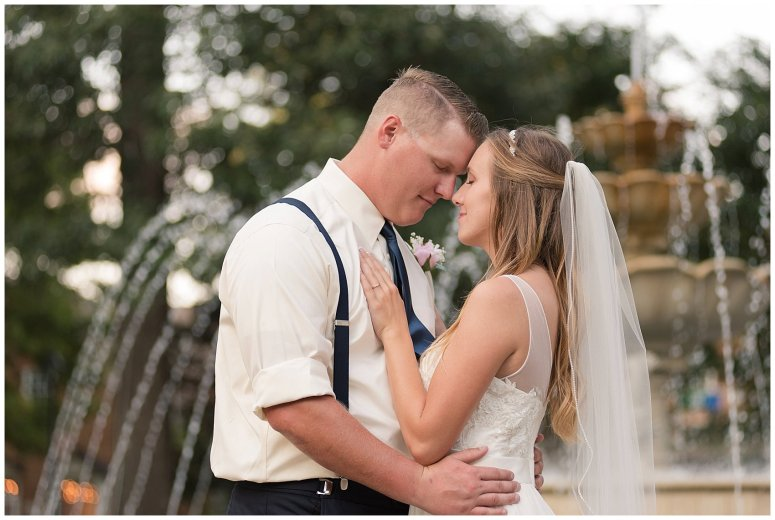 Blush Pink Summer Virginia Beach Wedding Regent University Founders Inn Bride and Groom Wedding Photographers_6141