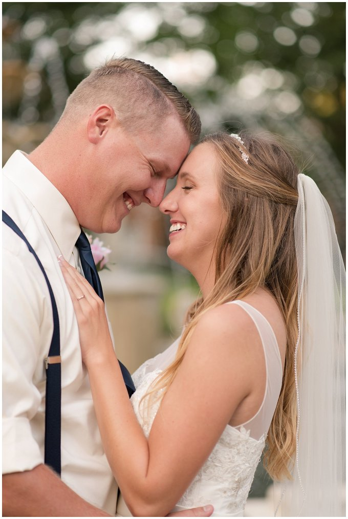 Blush Pink Summer Virginia Beach Wedding Regent University Founders Inn Bride and Groom Wedding Photographers_6142