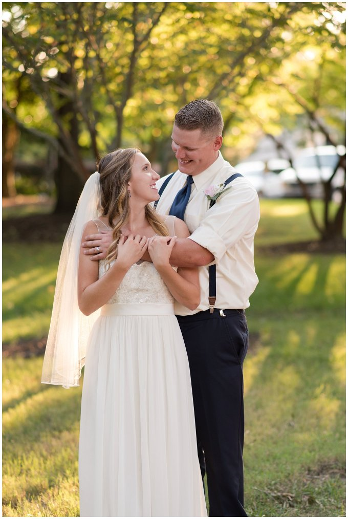 Blush Pink Summer Virginia Beach Wedding Regent University Founders Inn Bride and Groom Wedding Photographers_6143