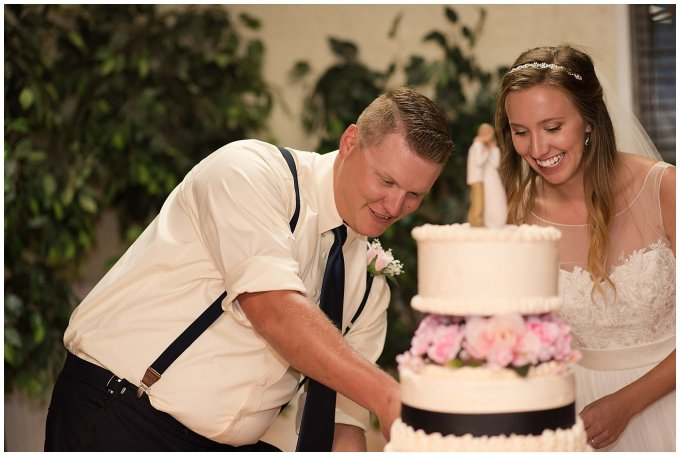 Blush Pink Summer Virginia Beach Wedding Regent University Founders Inn Bride and Groom Wedding Photographers_6171