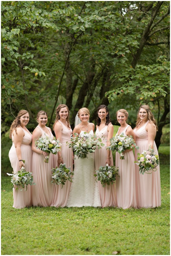 Blush Summer Kilmarnock Outdoor Wedding Virginia Photographers_5902