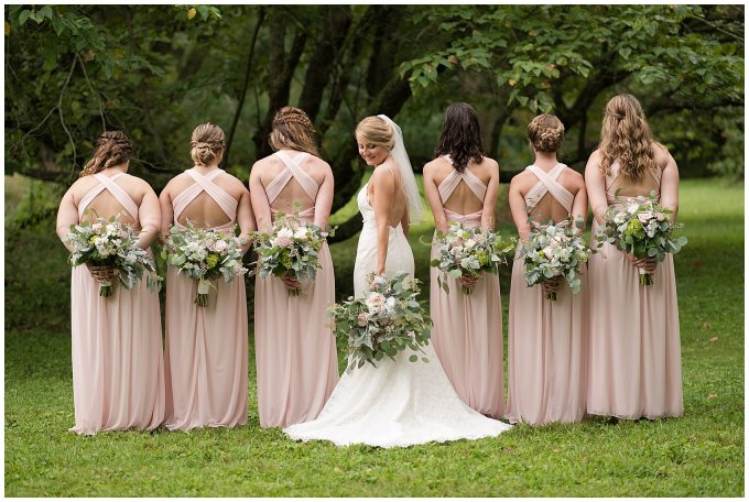 Blush Summer Kilmarnock Outdoor Wedding Virginia Photographers_5903